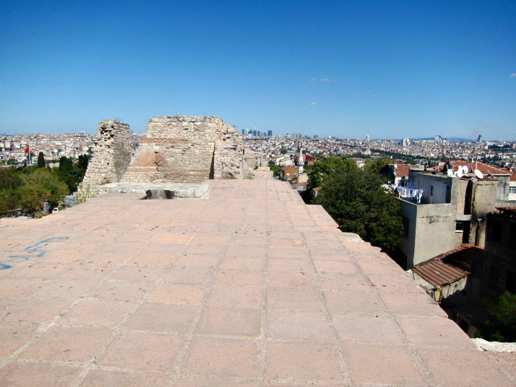 The Best View in Istanbul - Theodosius II Defensive Walls No. 3