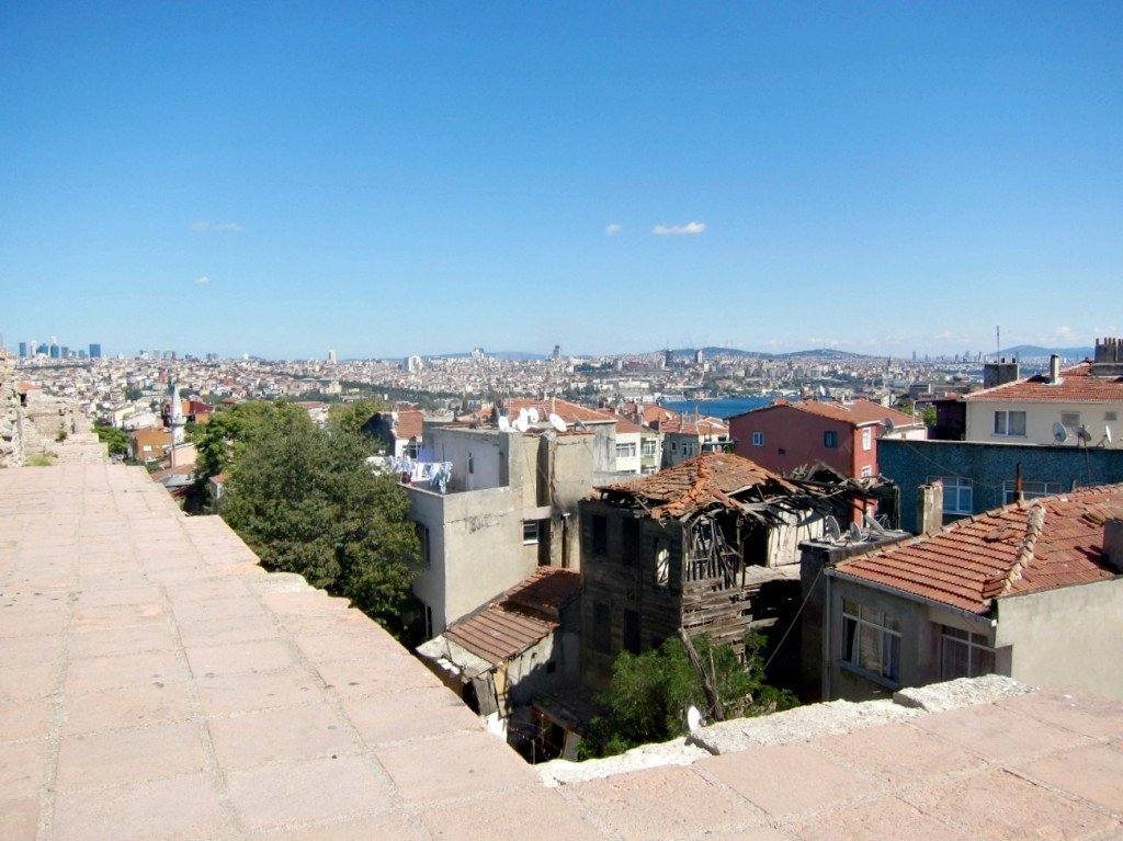 The Best View in Istanbul - Theodosius II Defensive Walls No. 4