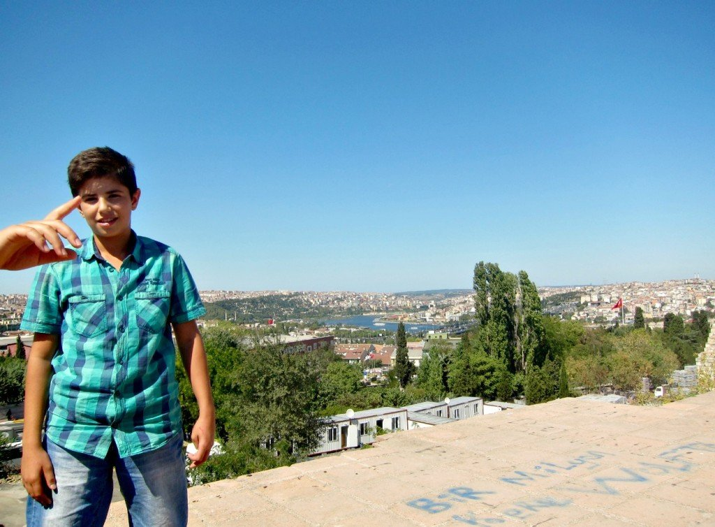 The Best View in Istanbul - Theodosius II Defensive Walls No. 6