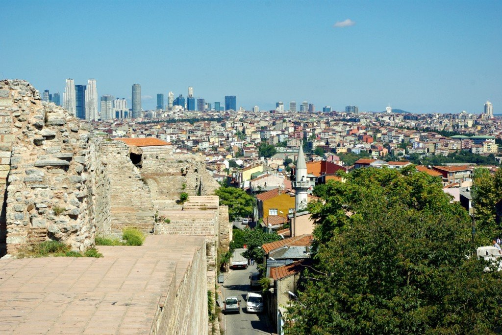 The Best View in Istanbul - Theodosius II Defensive Walls No. 8