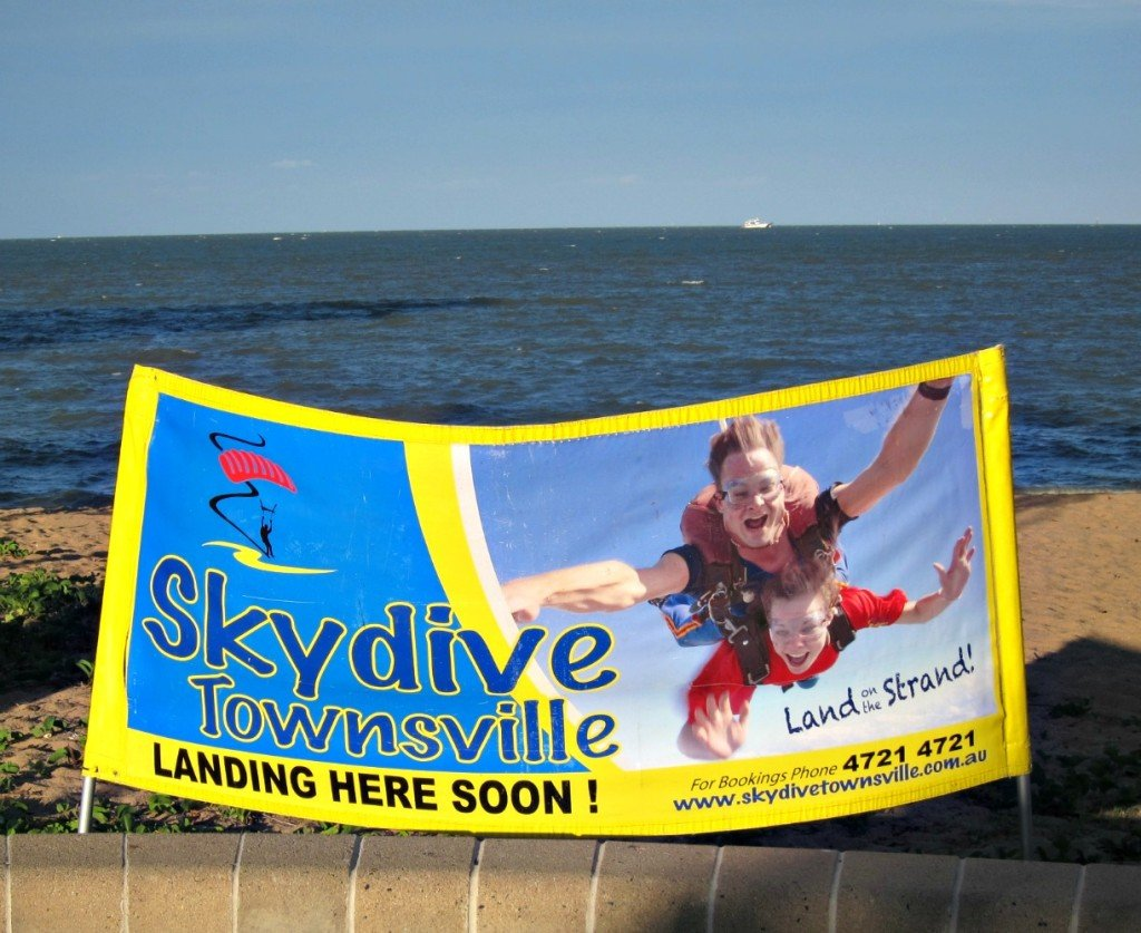 Skydive on the Strand at Townsville