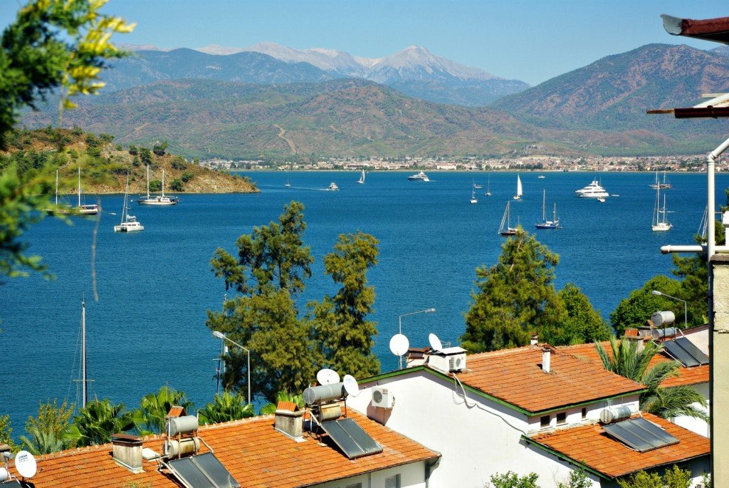 Fethiye - Main Harbour View from Dyugu