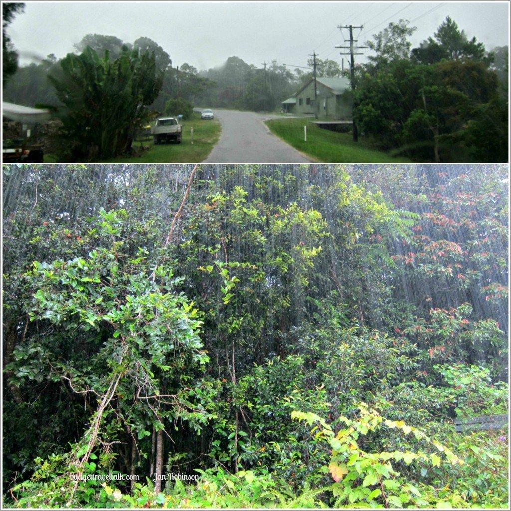 Paluma Township in the Rain