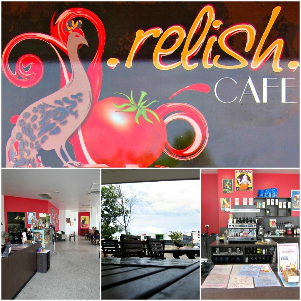 Lunch at Relish Cafe Townsville