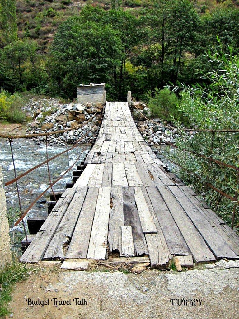 Turkey Road to Barhal Bridge