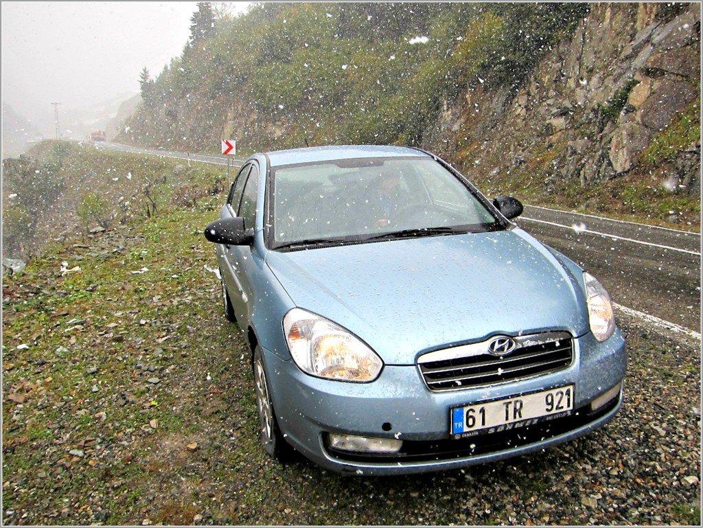Rental Car Black Sea Turkey