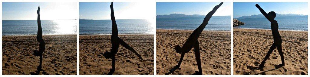Hand Stand Collage Strand Ephemera Townsville