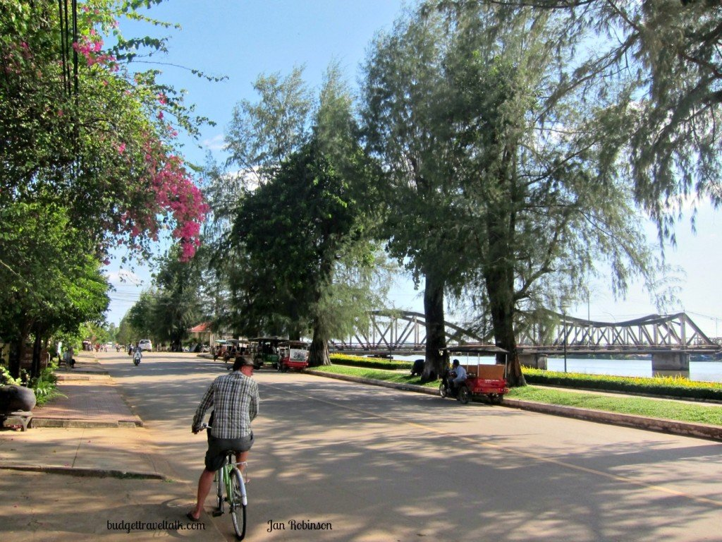 Kampot Riverside by Bicycle