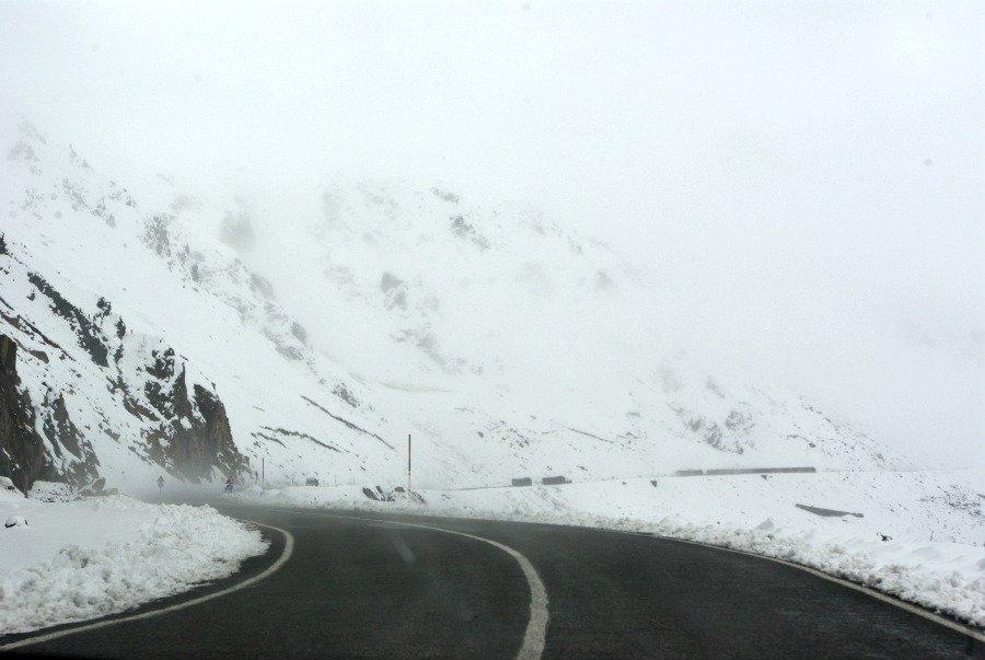 Eastern Turkey Road Trip Day 1 More Snowy Road