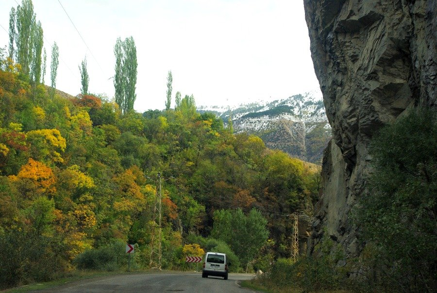 Southern side of Kackars