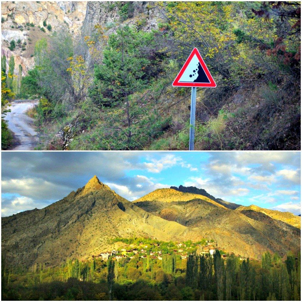 Road and Villages Ispir to Yusufeli