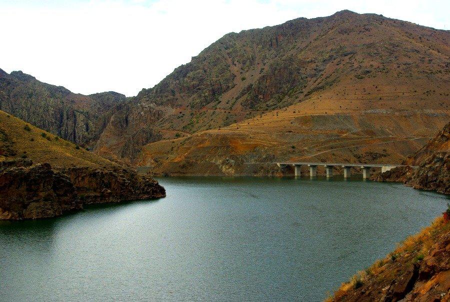 Dam near Ispir