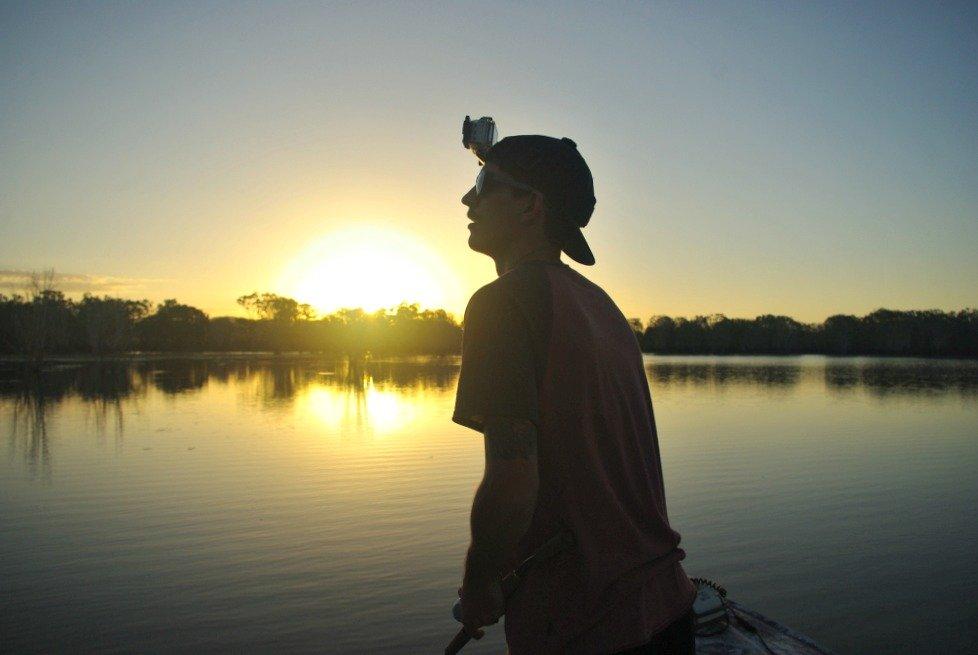 Peter Faust Dam Sunset Ma