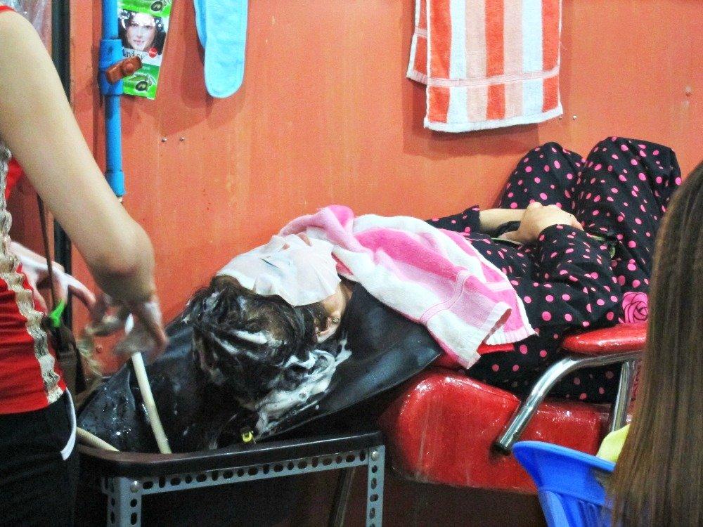 Face Mask Time Phsar Leu Market Sihanoukville