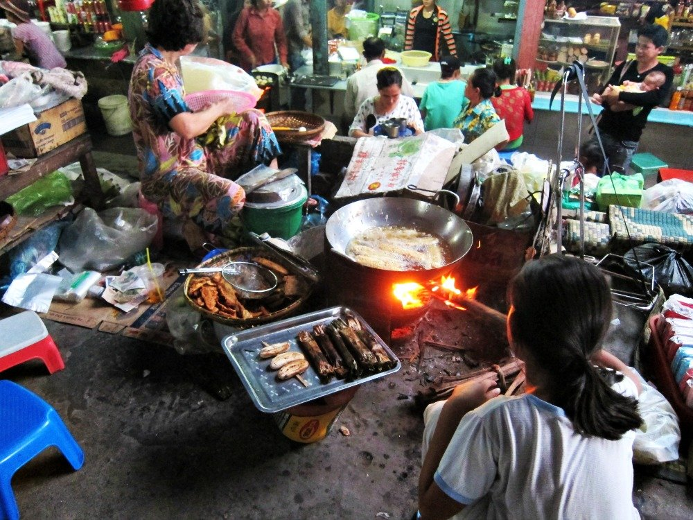 Cooking in the Heat of the Market