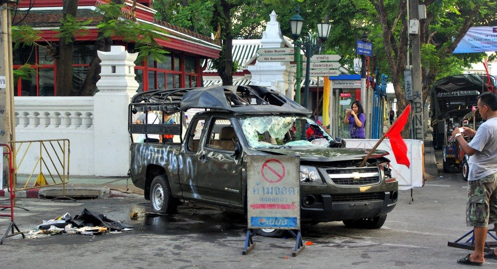 Bangkok Riots April 2010