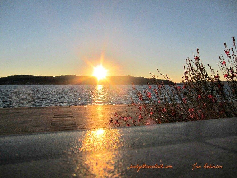 Sunset over the Gallipoli Peninsula