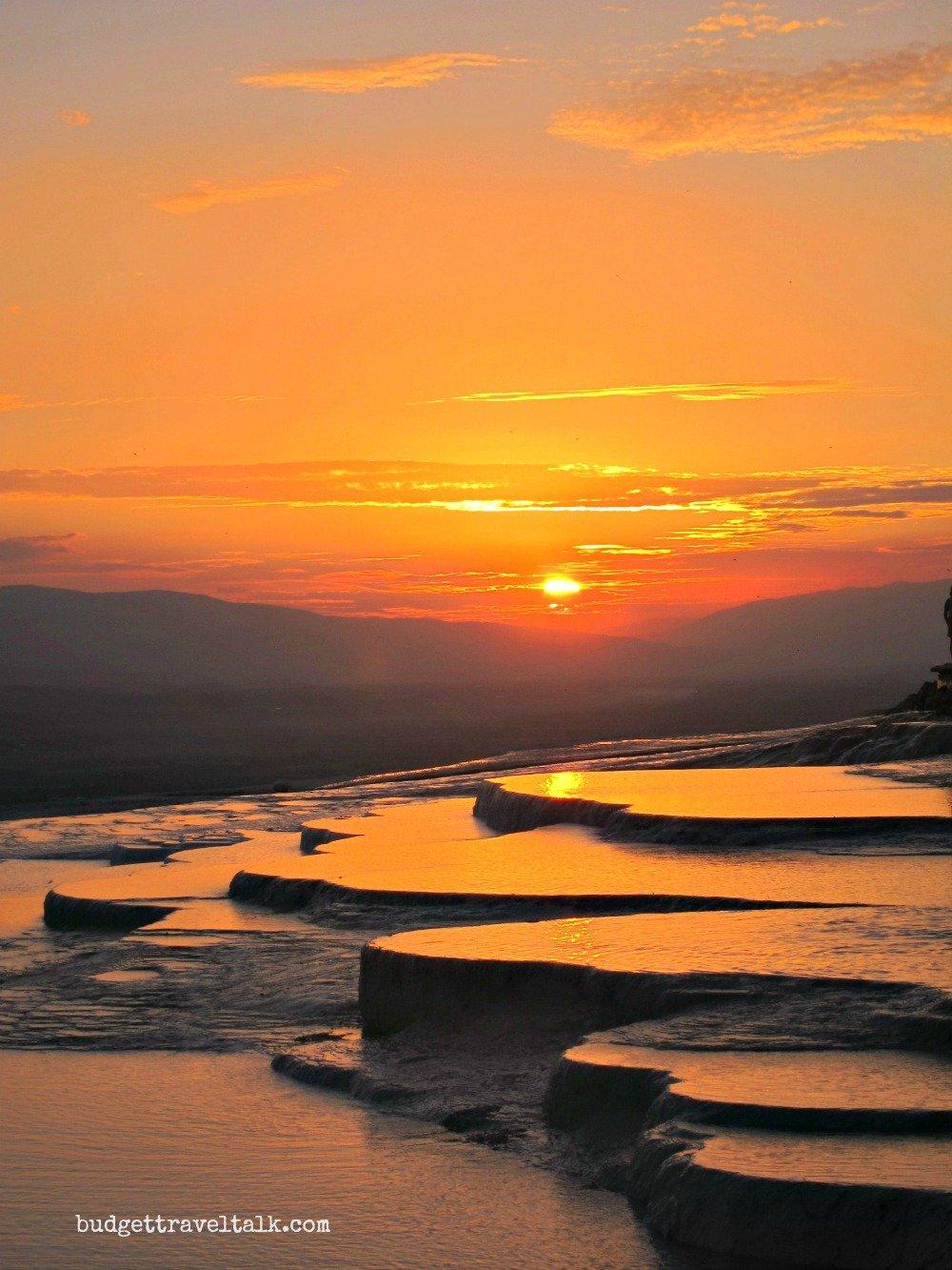Pamukkale Sunset