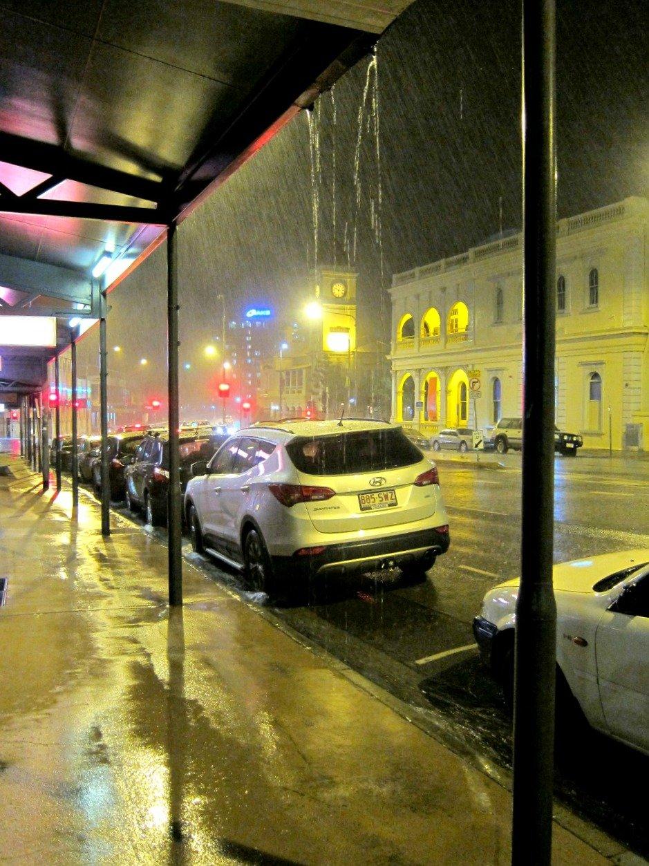 Townsville Rain Denham St.