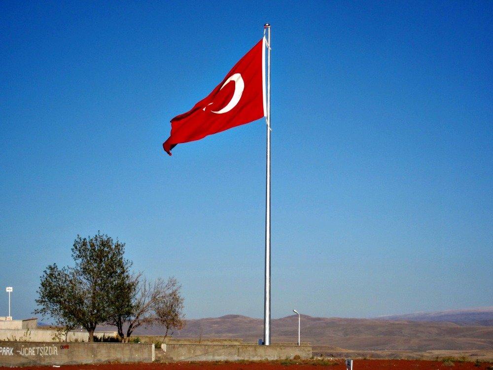 Turkish Flag at Ani