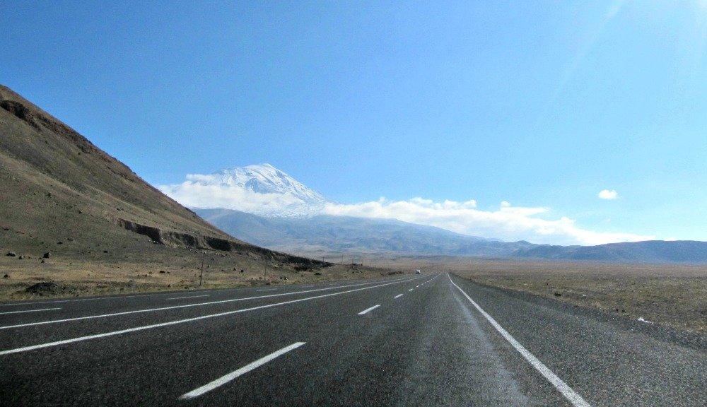 Mt. Ararat or Agri Dagi in Eastern Turkey