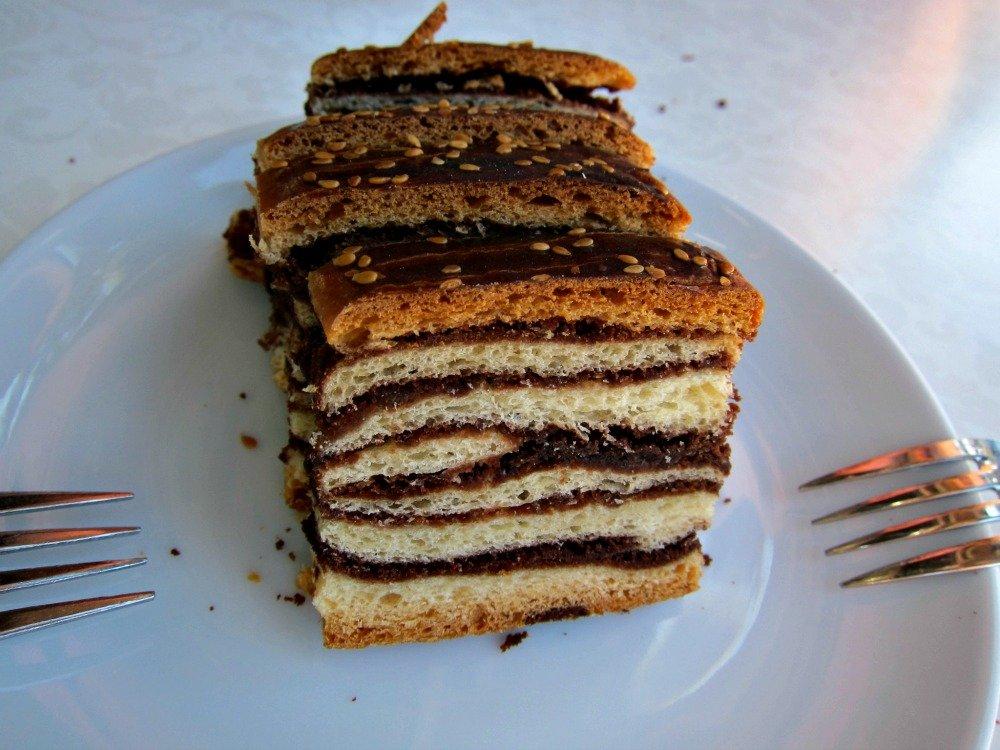 Day 7 Cake at Arhavi on the Black Sea Coast