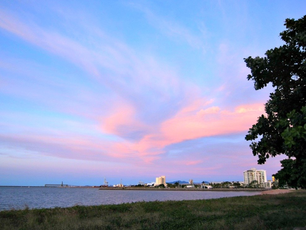 Townsville Strand At Sunset