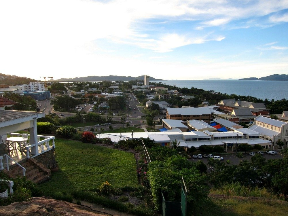 View from Cleveland Tce, Townsville