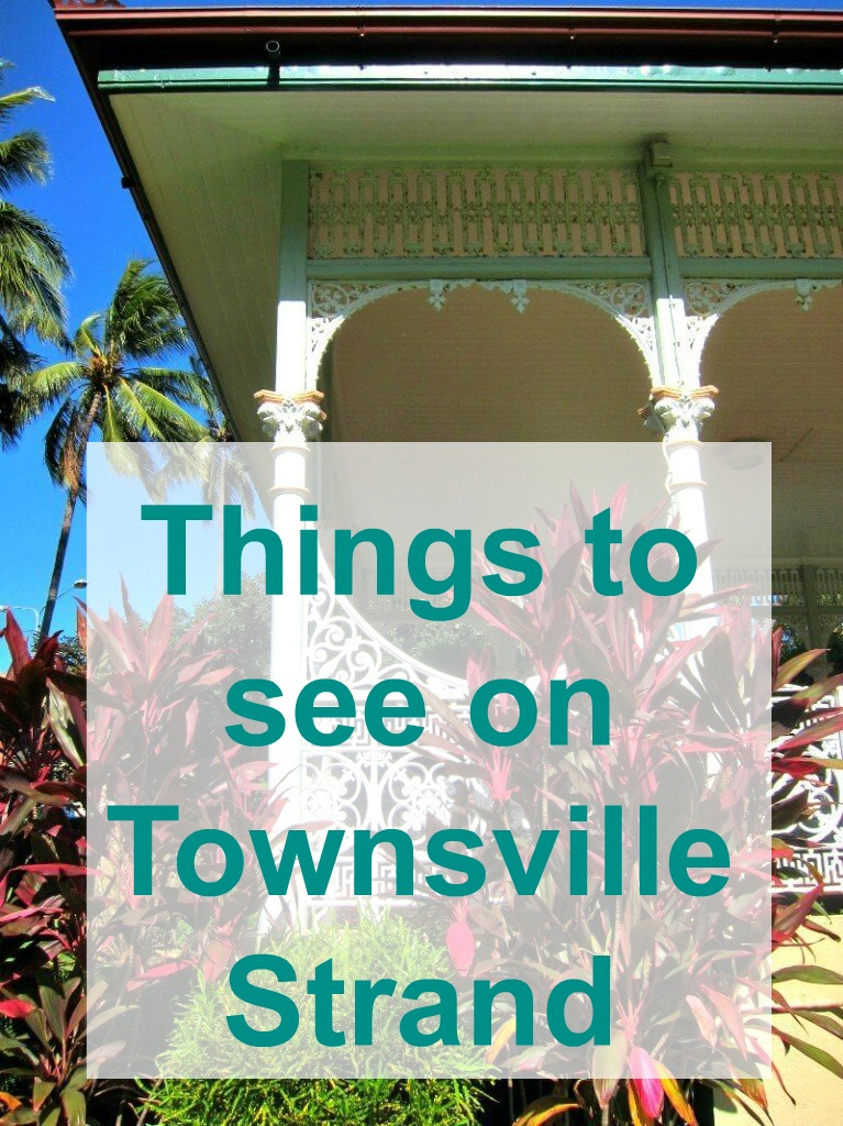 Historic wrought iron Strand Rotunda is one of the things to see on Townsville Strand