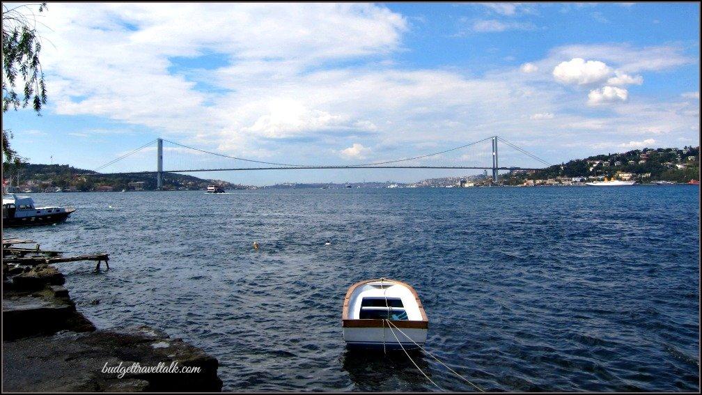 Bosphorus Bridge from Cengelkoy Istanbul