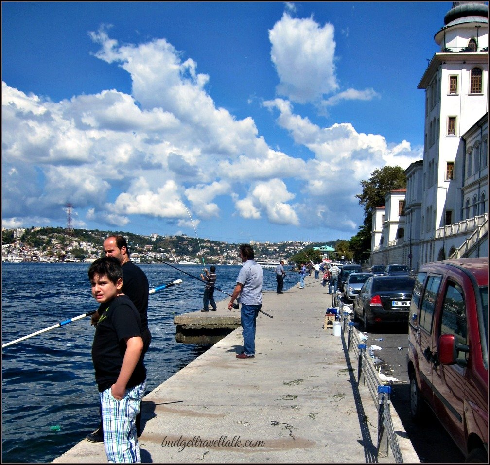 Cengelkoy Bosphorus Fishermen