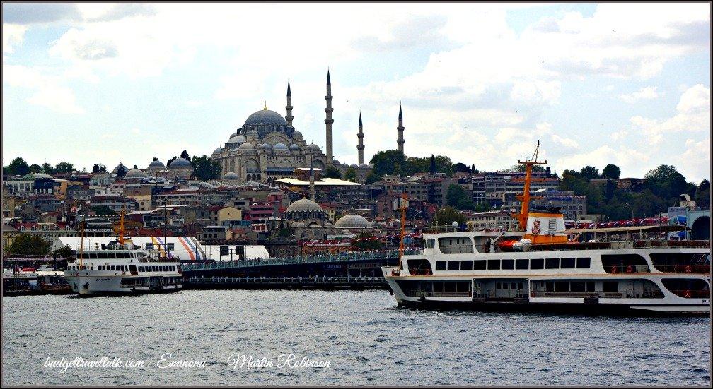 Eminonu ferries Istanbul