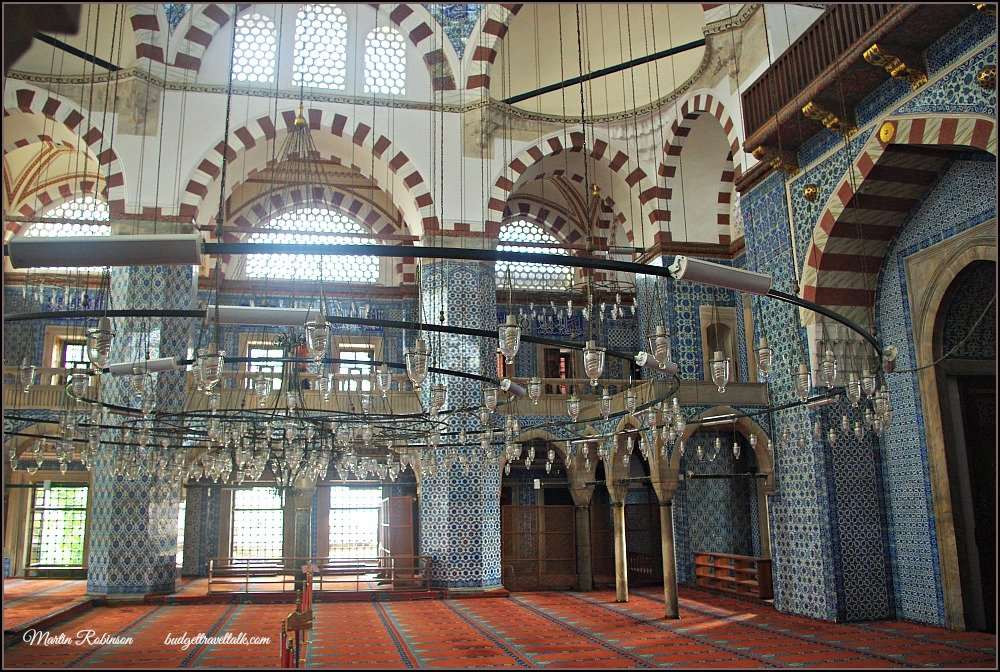 Rustem Pasha Hidden Mosque Interior