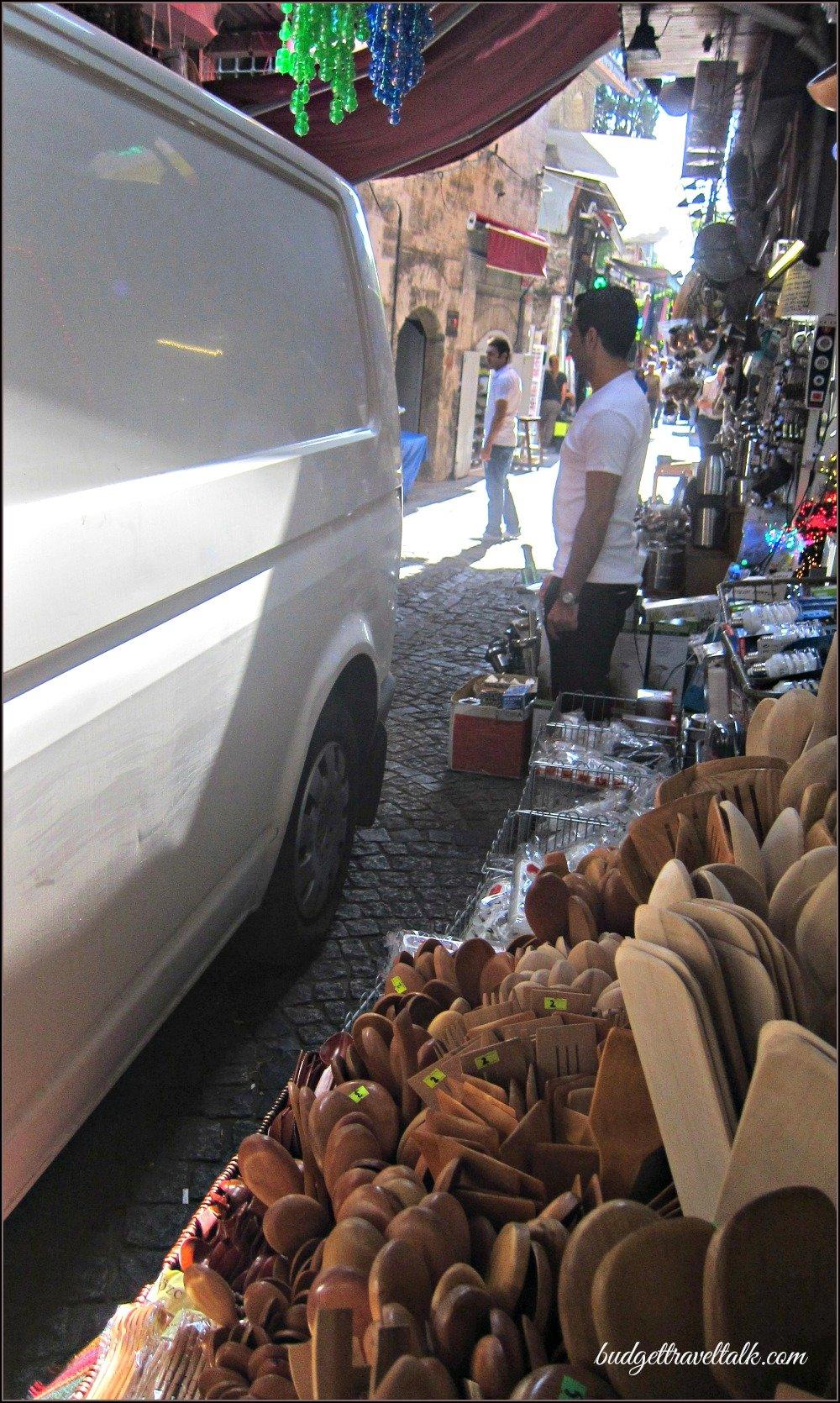 Hidden Mosque market street Istanbul