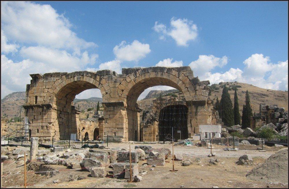 Hierapolis Roman Ruin in Turkey