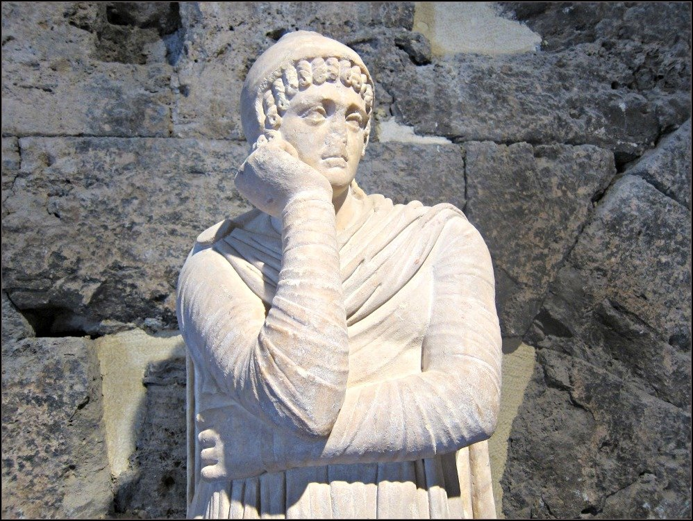 Hierapolis Statue by Budget Travel Talk