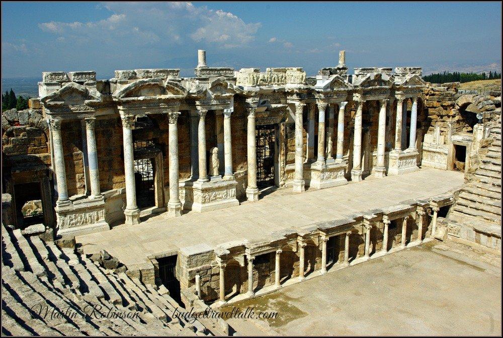 Hierapolis Roman Theatre by Budget Travel Talk