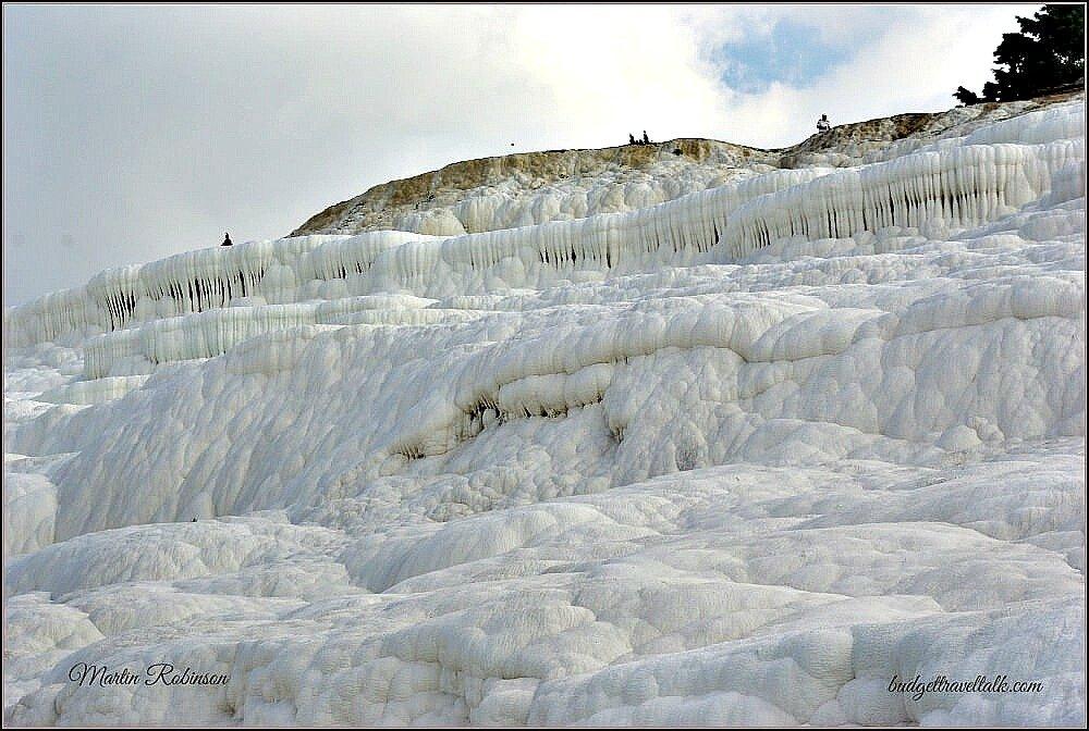 Pamukkale also known as the Cotton Castle Turkey