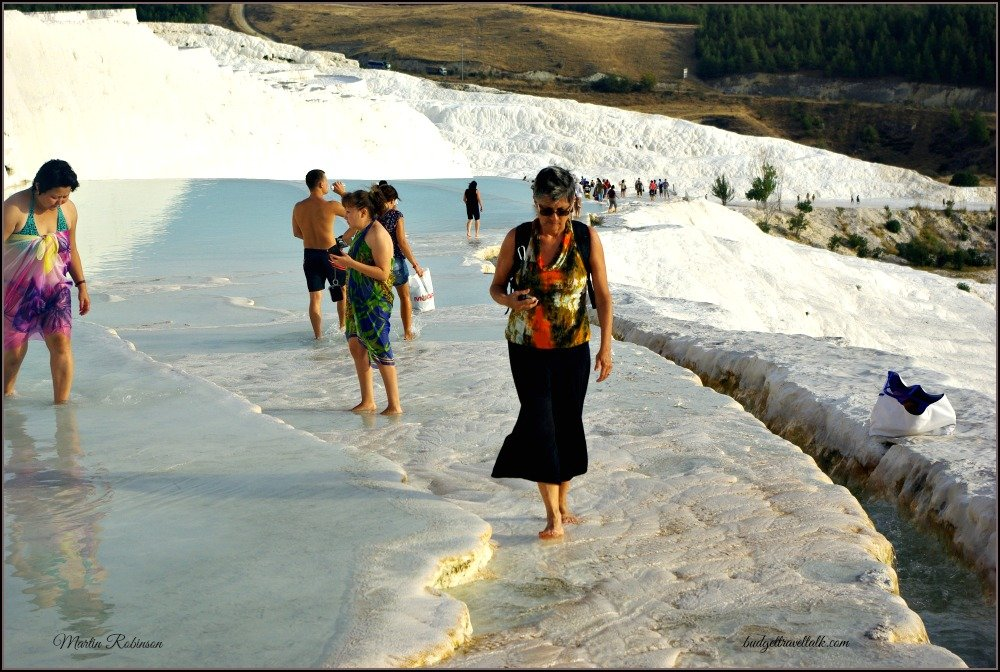 Pamukkale or a Cotton Castle in Turkey