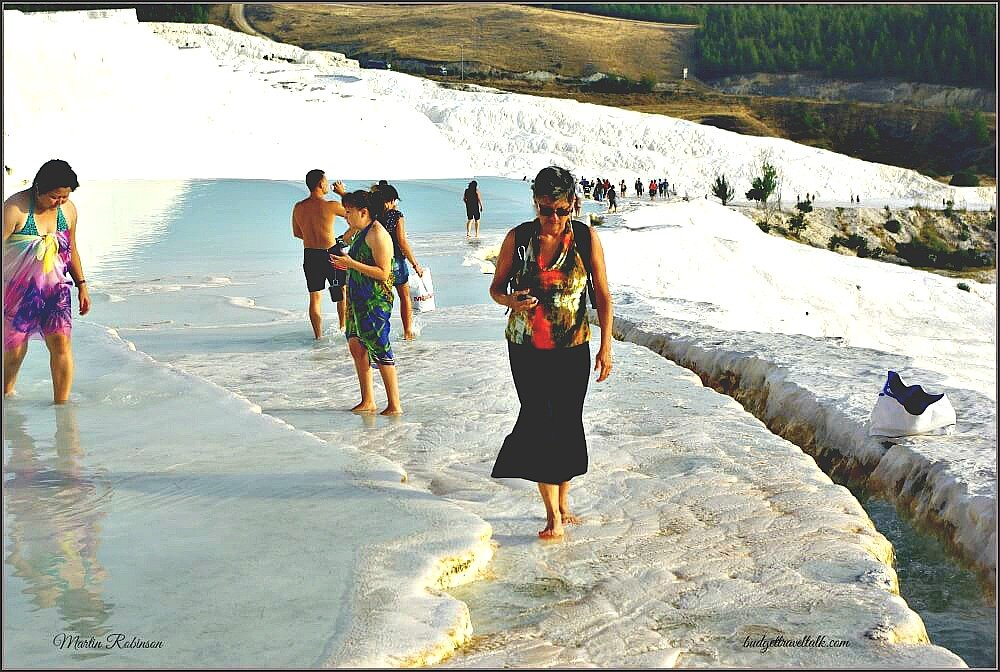 Pamukkale Pools and People