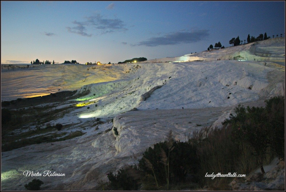 Visit Pumakkale at night