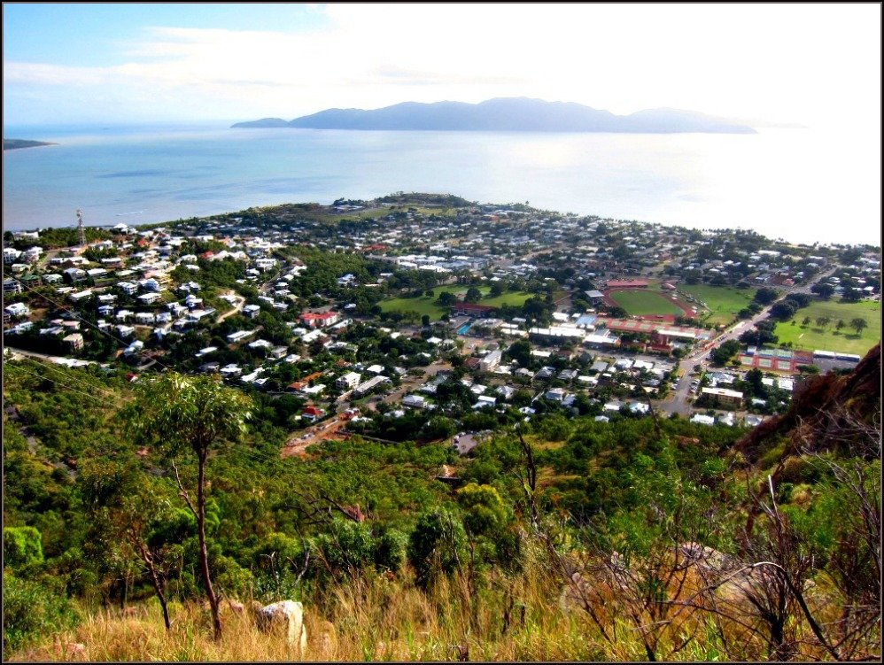 The Goat Track on Castle Hill Townsville by Budget Travel Talk
