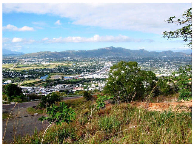 View of Townsville and Mount Stuart from Castle Hill