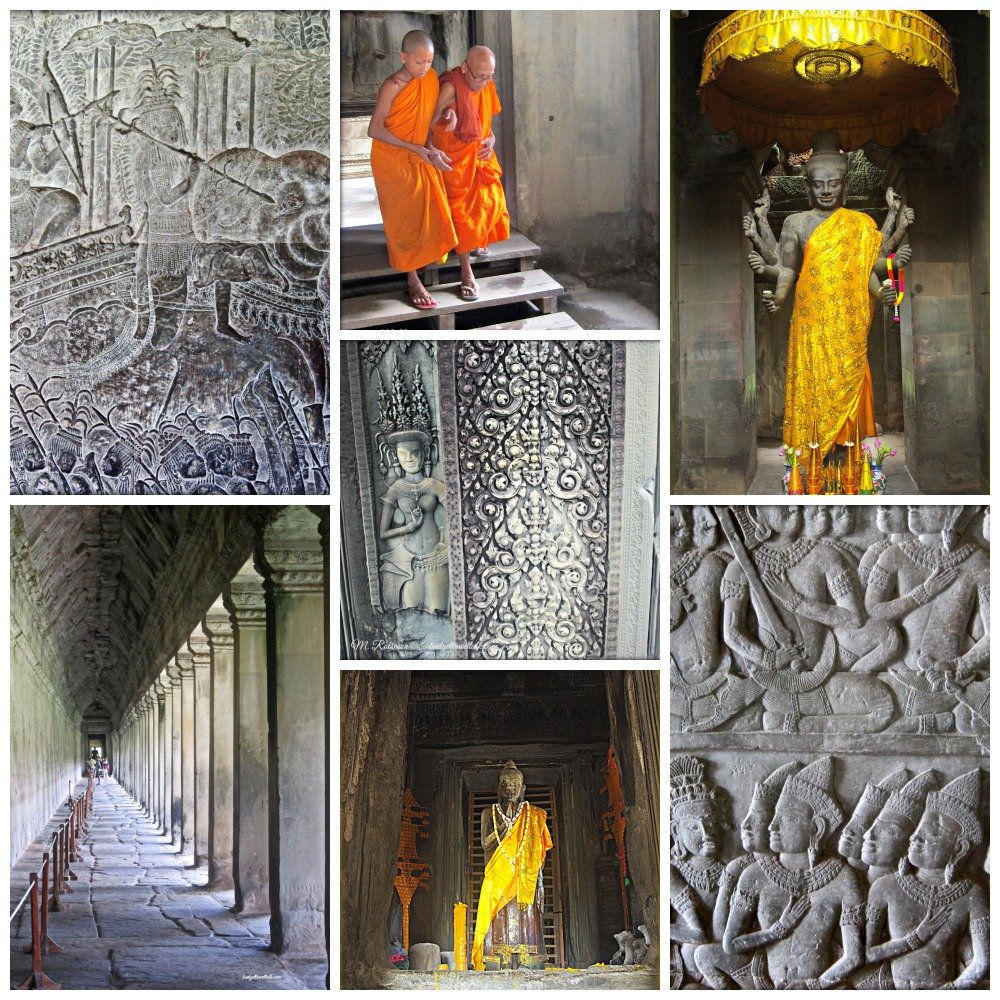 Angkor Wat Collage