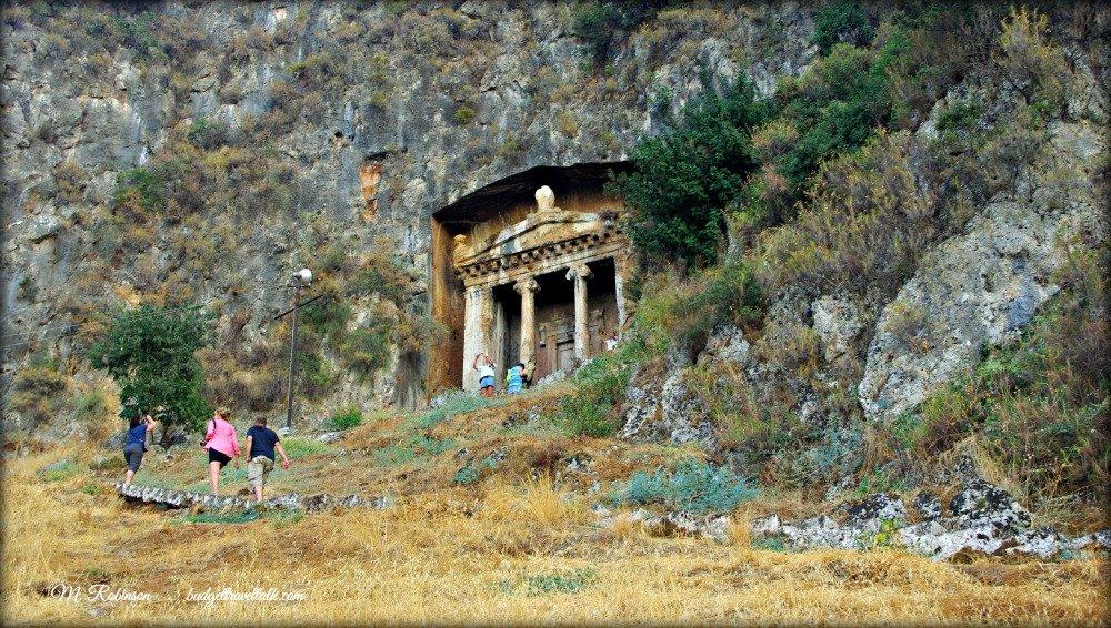 Fethiye Lycian Tomb