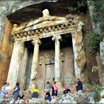 Lycian Tomb viewing in Fethiye