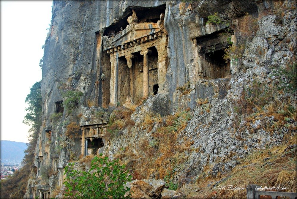 Lycian Tomb viewing in Fethiye  Budget Travel Talk