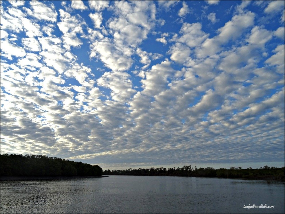 Morris Creek Clouds Afternoon