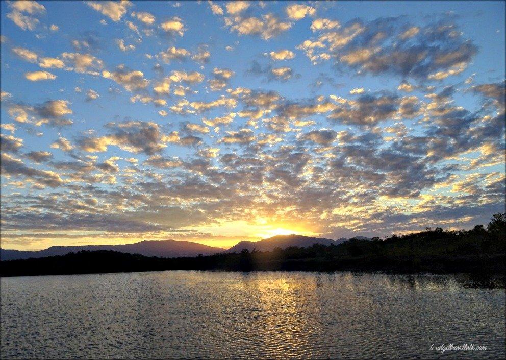 Morris Creek Sunset Mountains