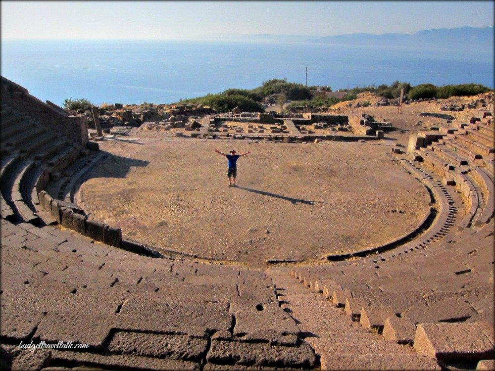 Theatre at Assos Turkey